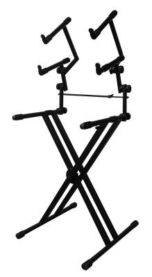 Heavy Duty Deluxe Three Tier Keyboard Stand