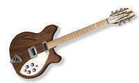 Rickenbacker - 2014 Coy 360 12-String Semi-Hollow Electric Guitar - Walnut