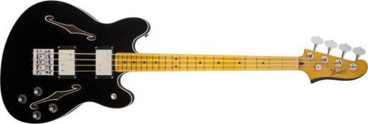 Starcaster Bass, Maple Fingerboard - Black