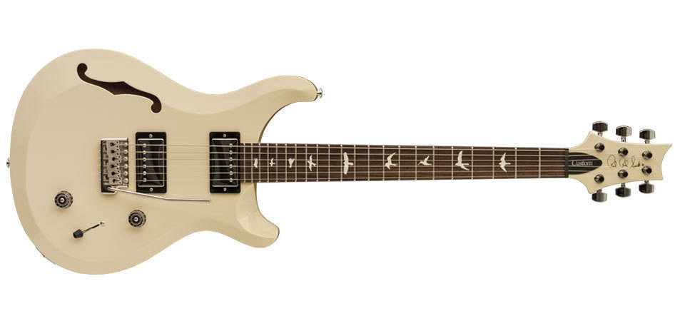 paul reed smith s2 custom 22 semi hollow electric guitar antique white long mcquade. Black Bedroom Furniture Sets. Home Design Ideas
