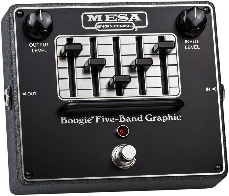 mesa boogie 5 band graphic eq pedal long mcquade musical instruments. Black Bedroom Furniture Sets. Home Design Ideas