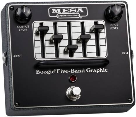 5 Band Graphic EQ Pedal