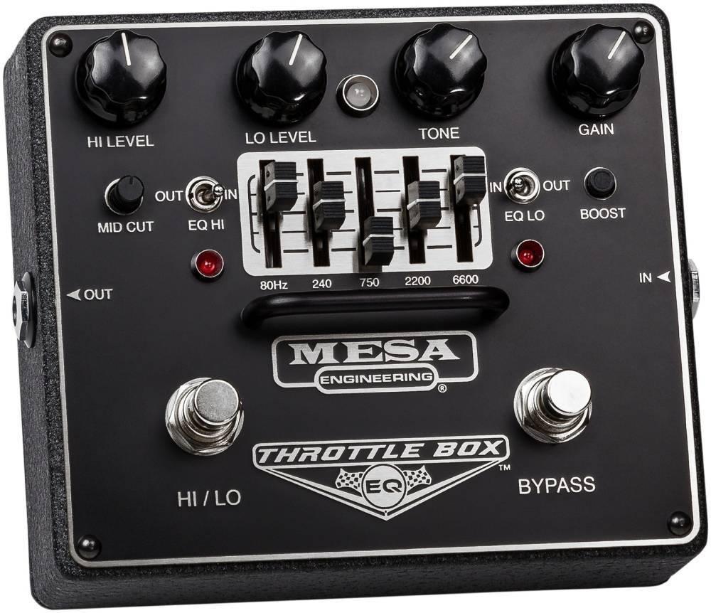 1baab840635 Mesa Boogie Throttle Box Dual Mode 5-Band Graphic EQ Pedal - Long ...
