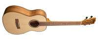 Kala - Solid Spruce Baritone Ukulele w/ Flame Maple Back & Sides - Gloss Finish