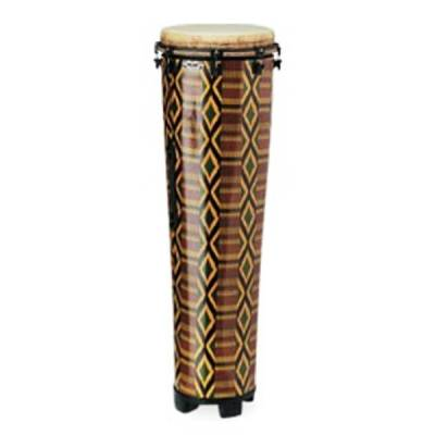 Key Tuned Ngoma - 14x40 Inch w/Fabric Stripe