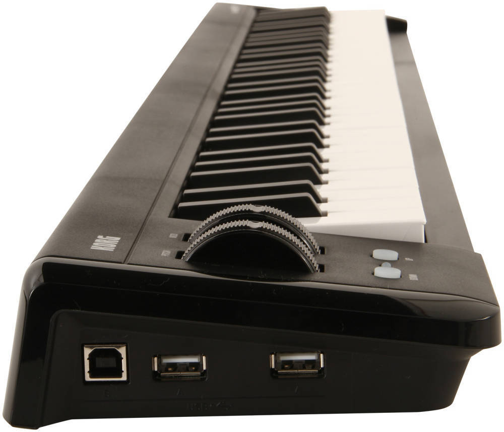 korg 61 key micro usb midi keyboard long mcquade musical instruments. Black Bedroom Furniture Sets. Home Design Ideas