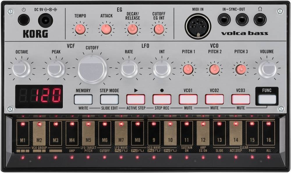 Korg - Analog Bass Machine w/Sequencer