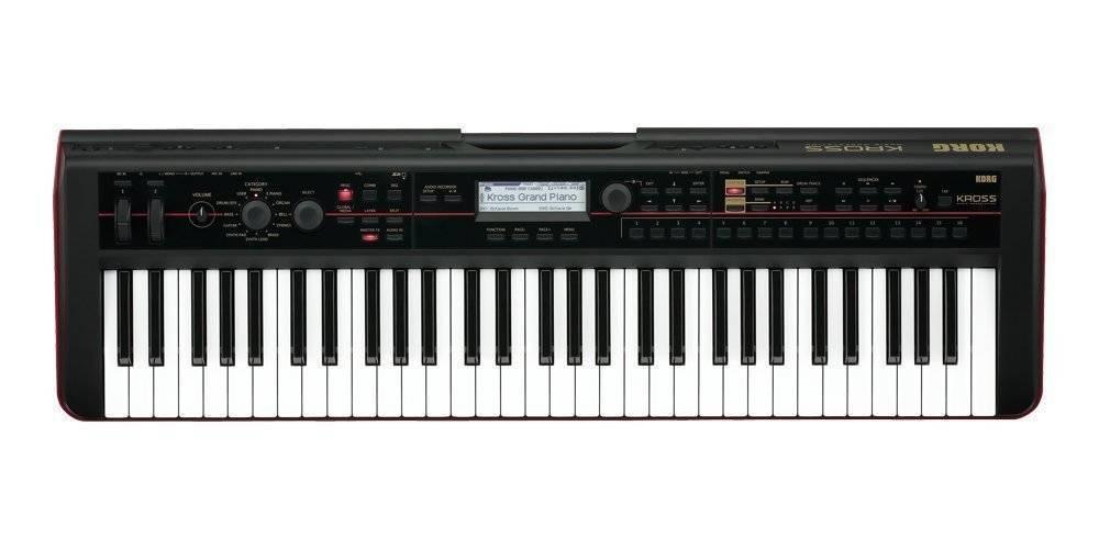 korg 61 key synthesizer workstation long mcquade musical instruments. Black Bedroom Furniture Sets. Home Design Ideas