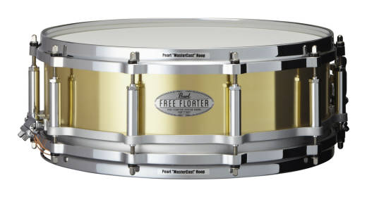 Free Floating 14x5 Inch Snare - Brass