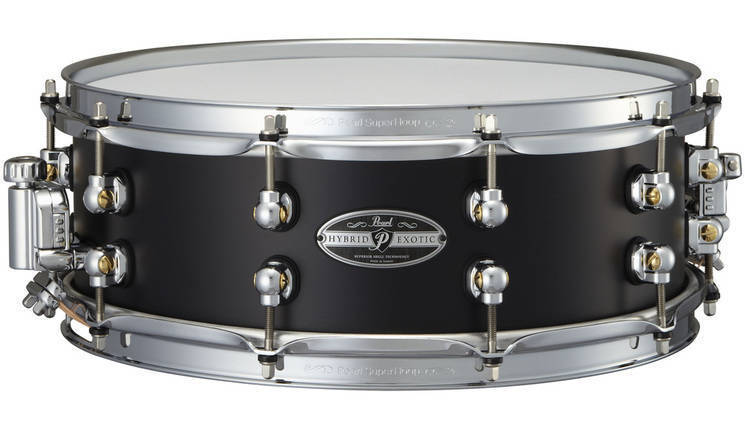 pearl hybrid exotic 14x5 inch snare aluminum r ring long mcquade musical instruments. Black Bedroom Furniture Sets. Home Design Ideas