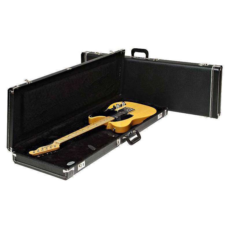 Fender mustangjag stangcyclone multi fit case standard black w fender mustangjag stangcyclone multi fit case standard black w black acrylic interior long mcquade musical instruments freerunsca Image collections