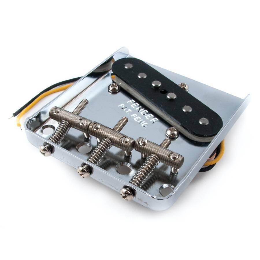 Fender American Vintage '62 Tele Custom Bridge Assembly W/ Pickup - Nickel  - Long & McQuade Musical Instruments