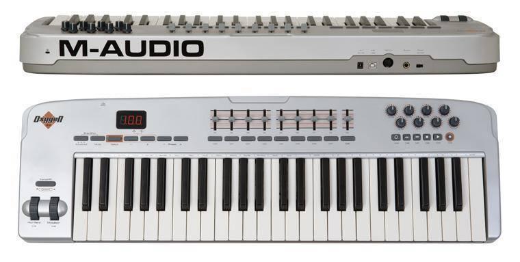 Midi Controller Oxygen 49 : m audio oxygen 49 midi controller long mcquade musical instruments ~ Vivirlamusica.com Haus und Dekorationen