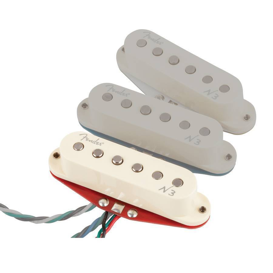 Fender Single N3 Noiseless Strat Bridge Pickup - Long