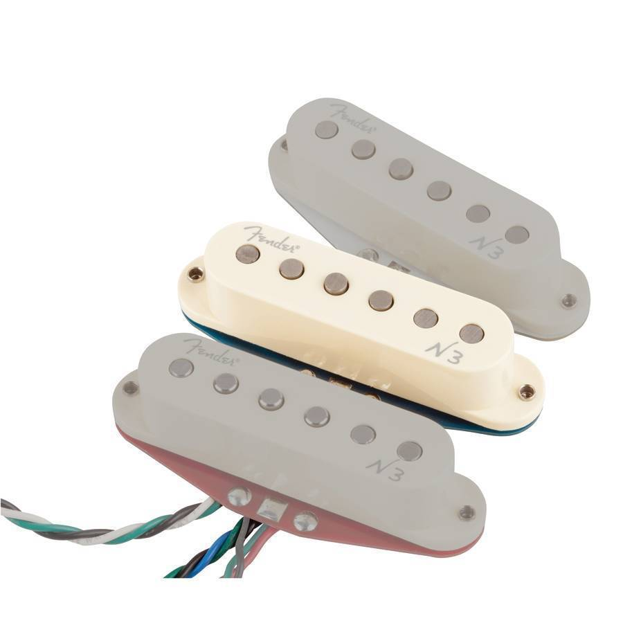 Fender Single N3 Noiseless Strat Middle Pickup Long Mcquade Kirk Hammett Emg Wiring Diagram