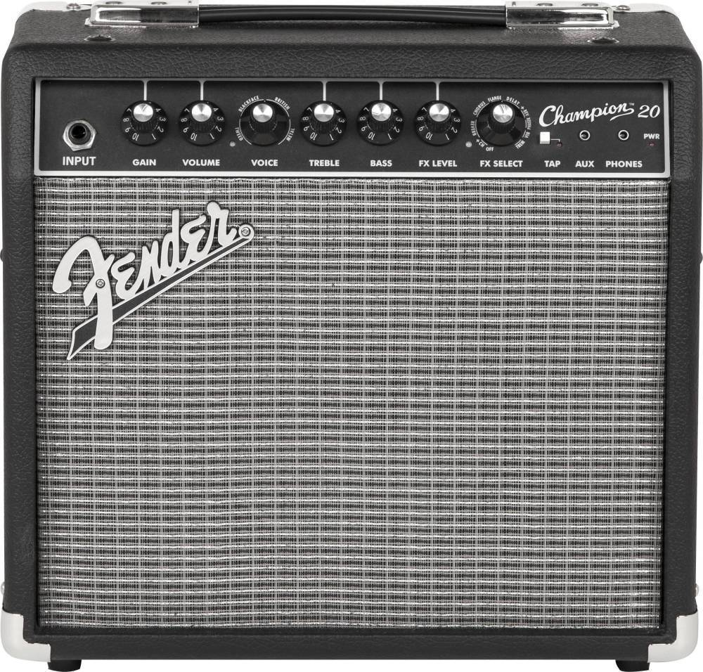 fender champion 20 guitar amp long mcquade musical instruments. Black Bedroom Furniture Sets. Home Design Ideas