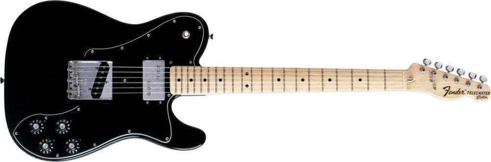 Fender 72 Telecaster Custom Knobs Black Set of 4