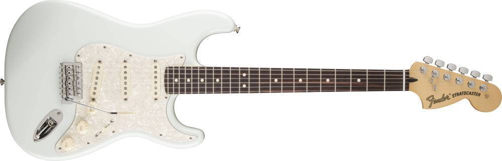 fender deluxe roadhouse stratocaster rosewood fingerboard sonic blue long mcquade musical. Black Bedroom Furniture Sets. Home Design Ideas