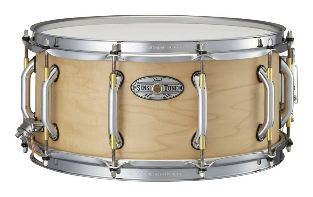pearl sensitone premium 14x6 5 inch snare 6 ply maple long mcquade musical instruments. Black Bedroom Furniture Sets. Home Design Ideas