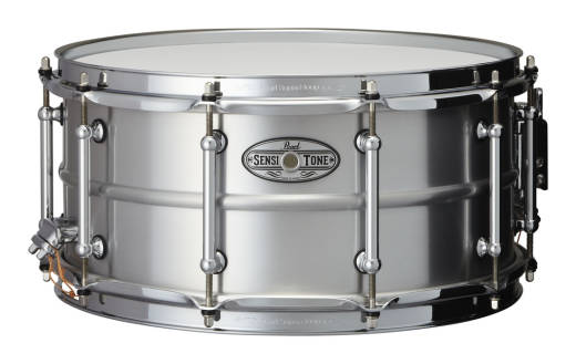 Sensitone 14x6.5 inch Snare - Beaded Seamless Aluminum