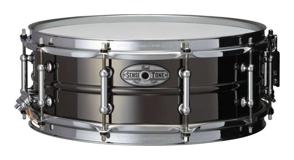 pearl sensitone 14x5 inch snare beaded brass long mcquade musical instruments. Black Bedroom Furniture Sets. Home Design Ideas