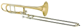 Courtois - AC260BO - Bb/F Trombone - Open Wrap - Lacquer Finish