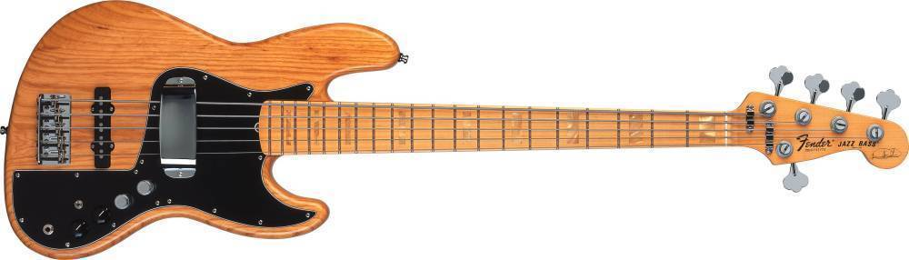 fender marcus miller 5 string jazz bass v aged natural long mcquade musical instruments. Black Bedroom Furniture Sets. Home Design Ideas