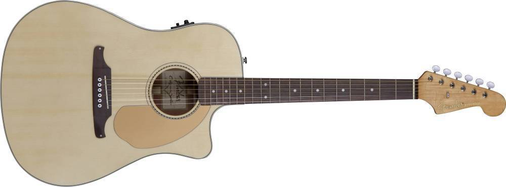 fender redondo ce acoustic electric w fishman preamp and built in tuner natural long. Black Bedroom Furniture Sets. Home Design Ideas