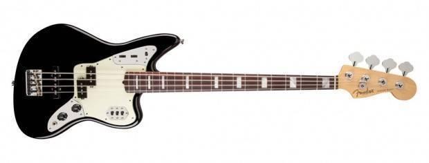 fender american standard jaguar bass black long mcquade musical instruments. Black Bedroom Furniture Sets. Home Design Ideas