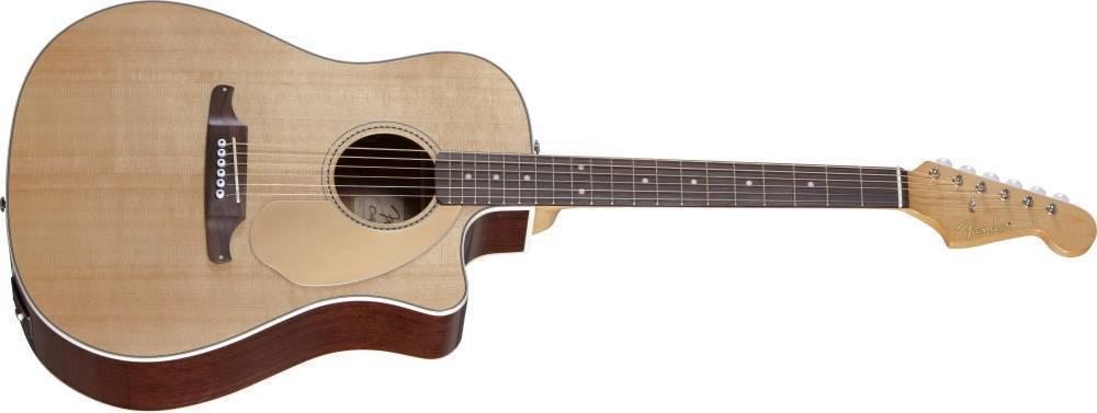 Fender Sonoran Sce Acoustic Electric Guitar W Fishman