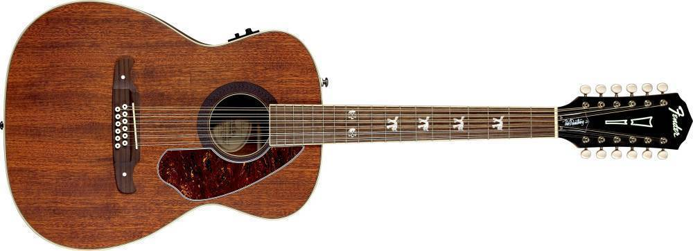 fender tim armstrong hellcat 12 string acoustic electric guitar natural long mcquade. Black Bedroom Furniture Sets. Home Design Ideas
