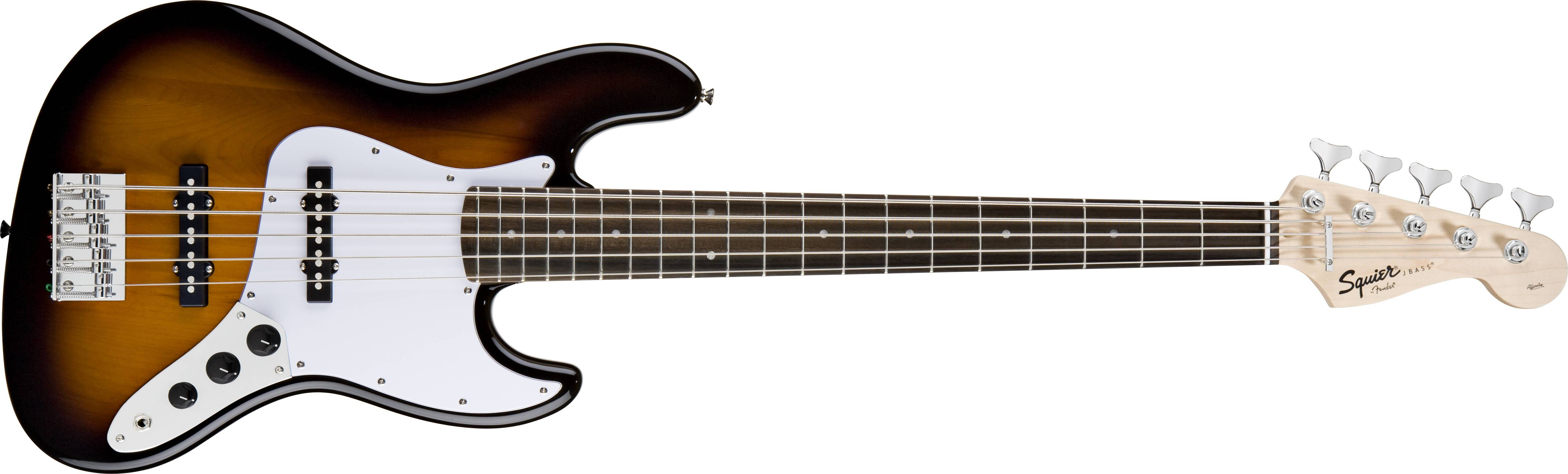 My eb bass squier vintage modified jazz bass - Squier Affinity 5 String Jazz Bass V Brown Sunburst Long Mcquade Musical Instruments