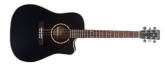 Simon and Patrick - Songsmith with Cutaway and A3T Pickup - Black