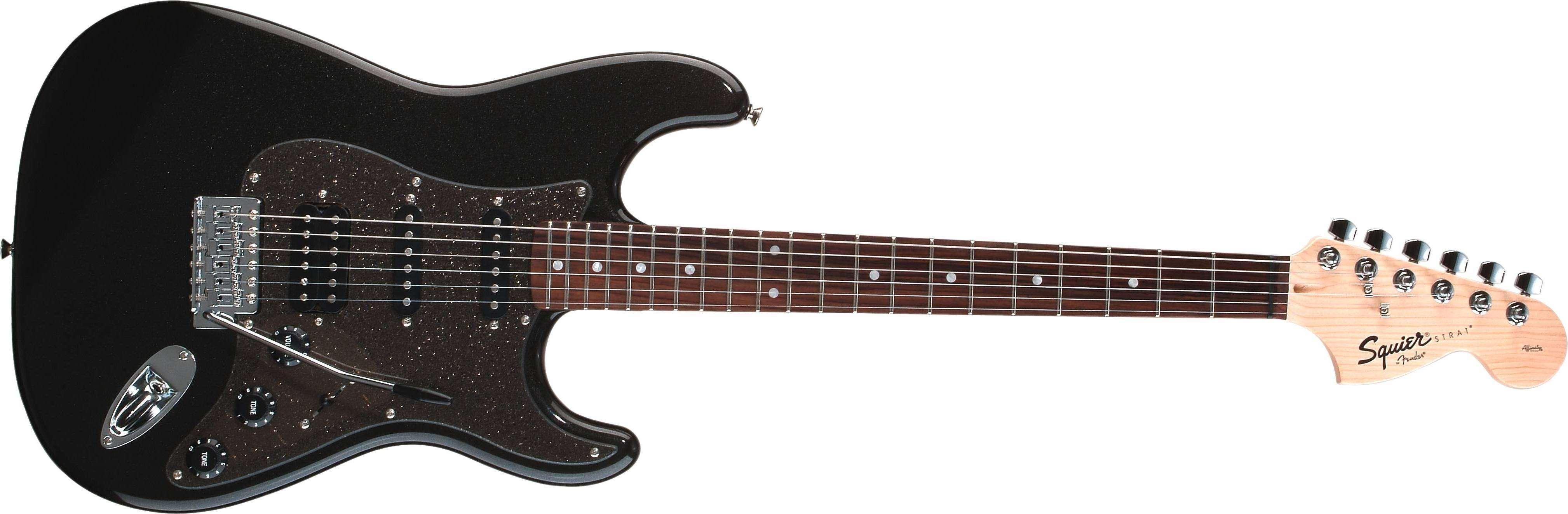 Affinity Series Stratocaster HSS - Montego Black Metallic