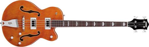 G5440LSB Electromatic Hollowbody Long Scale Bass - Orange