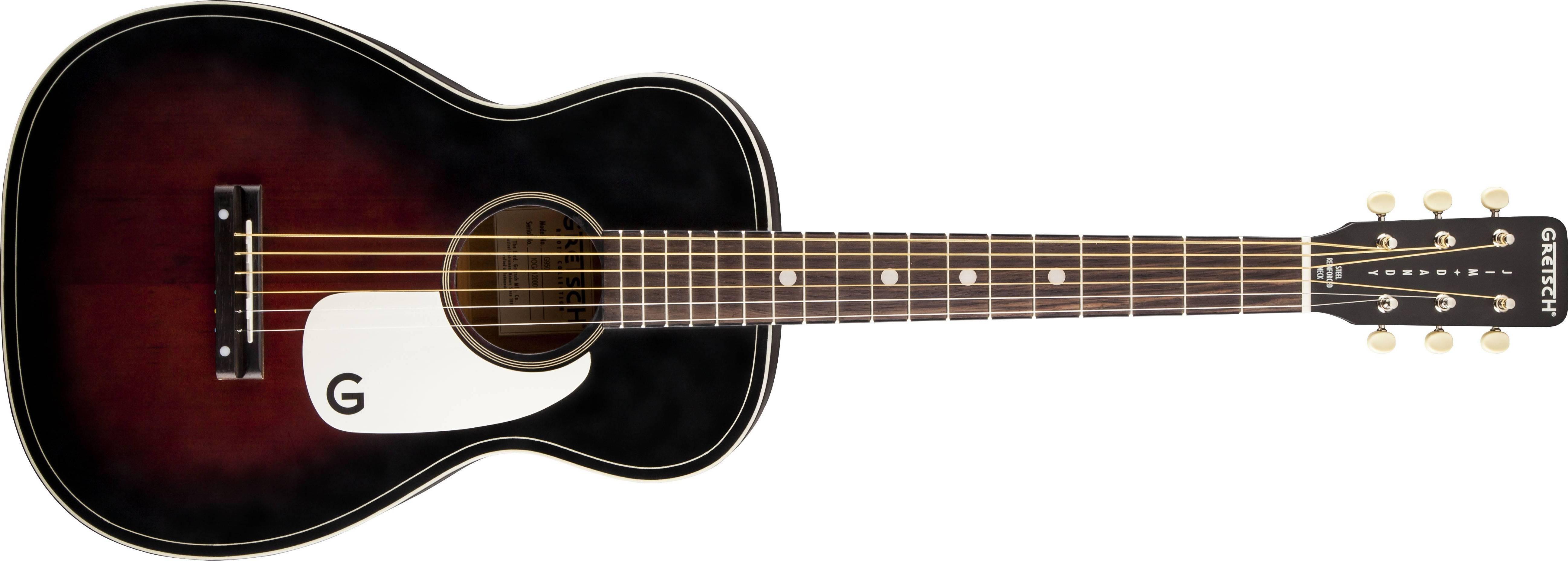 Gretsch Acoustic Guitars >> G9500 Jim Dandy Flat Top Acoustic Guitar 2 Color Sunburst
