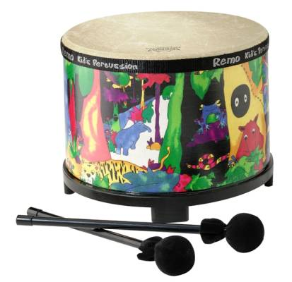 Kids Floor Tom 7.5 x 10 Inch - Rain Forest