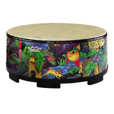 Kids Gathering Drum 8 x 16 Inch - Rain Forest