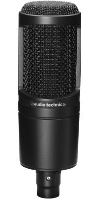 AT2020 Cardioid Condenser Microphone - Black