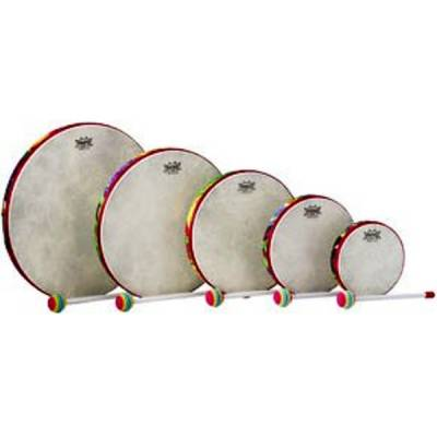 Kid's Percussion Hand Drum - 6 Inch - Rain Forest