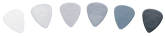 Dunlop - Nylon .38 Gauge Picks (72)