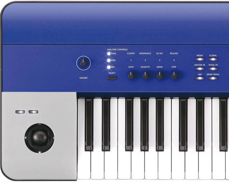 korg krome 61 key workstation blue long mcquade musical instruments. Black Bedroom Furniture Sets. Home Design Ideas