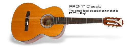 Pro-1 Classic Nylon String Acoustic - Natural
