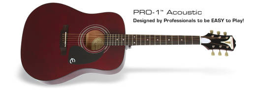 Pro-1 Acoustic - Wine Red