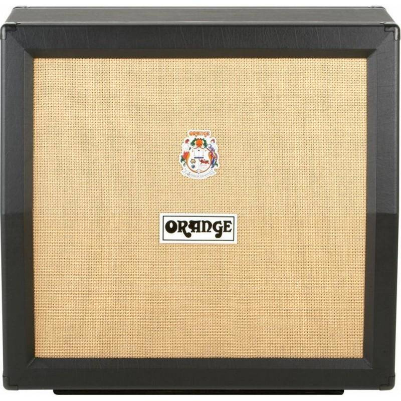 Orange Amplifiers - Angled 4 x 12 Speaker Cabinet - Black Tolex