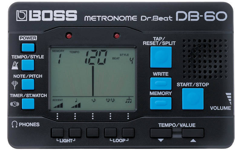 boss dr beat metronome long mcquade musical instruments. Black Bedroom Furniture Sets. Home Design Ideas