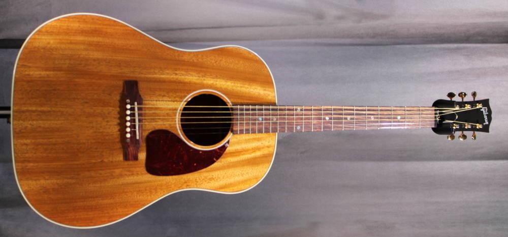 gibson j 45 mahogany top acoustic guitar long mcquade. Black Bedroom Furniture Sets. Home Design Ideas