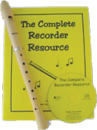 Themes & Variations - Handel C Soprano Recorder - Baroque - 2 Piece Plastic - Package w/Book/CD