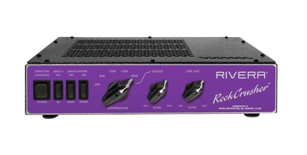 rivera amplification power attenuator and load box long mcquade musical instruments. Black Bedroom Furniture Sets. Home Design Ideas