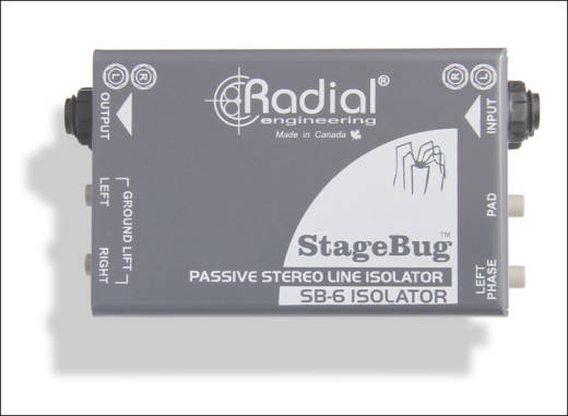 StageBug 6 Audio Isolator